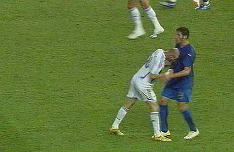 Testata di Zidane a Materazzi