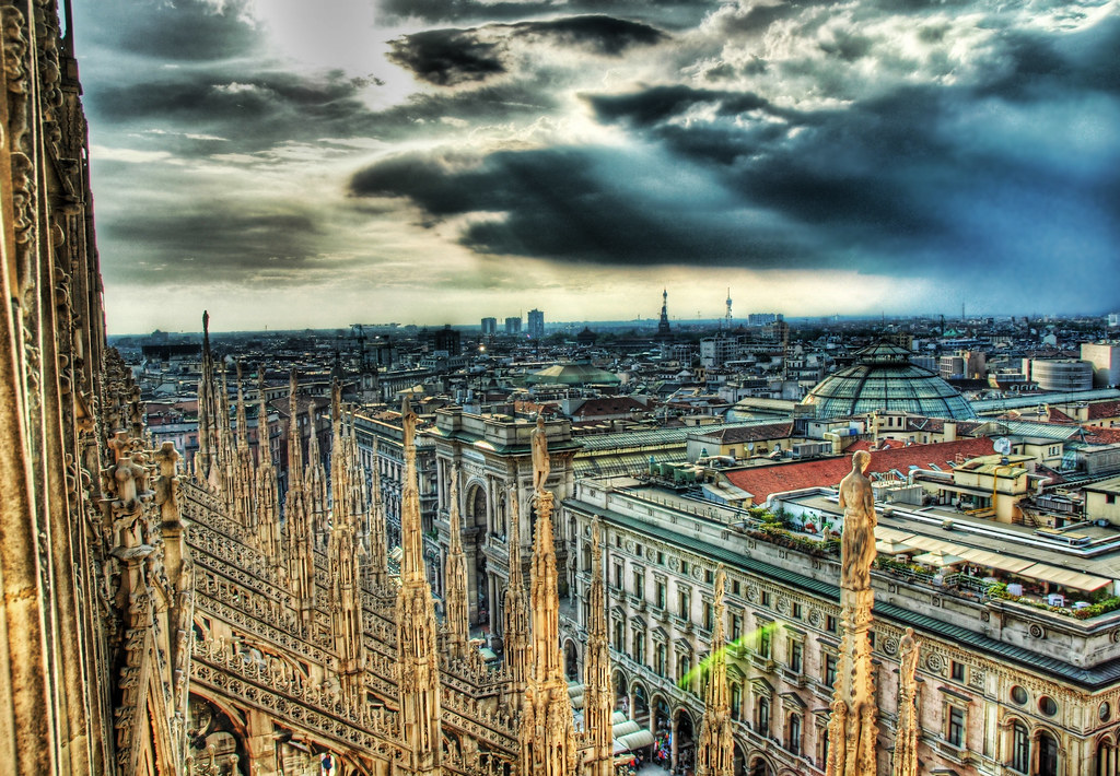 View from the Spires