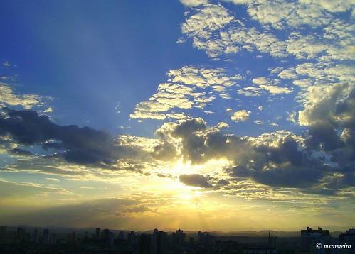Sun over S. José dos Campos