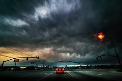 thunderstorm on wall street photo by astrocruzan