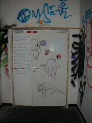 Université Paris 8, des graffitis