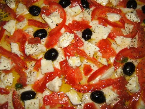 Pizza con ...