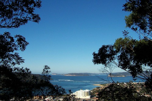 The Excrescence, Barrenjoey Head & Pittwater from Blackwall Mountain