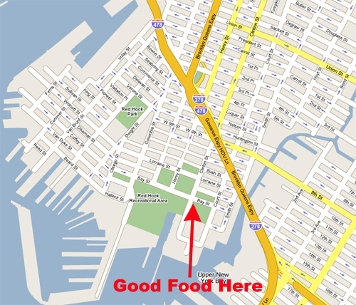 Hook Food Map