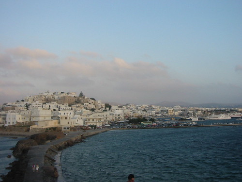 View of Hora from the Portara