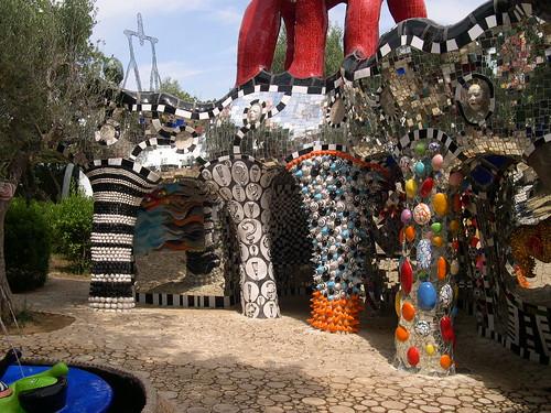 Tarot Garden Tuscany Mosaic Art Source