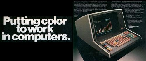 Ordenador de 1979 con resolución de 128 x 128