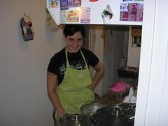 Vane, la cocinera