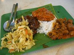 Nasi Meat