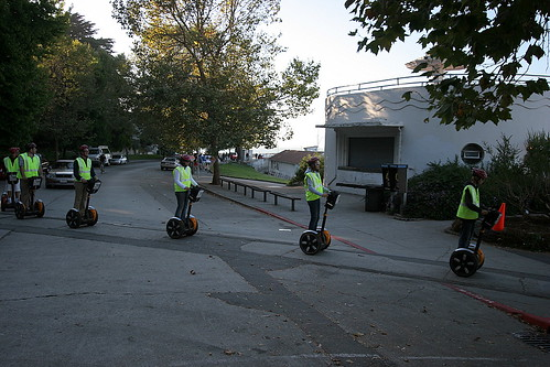 segway crossing