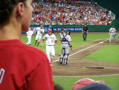 Ryan Zimmerman scores