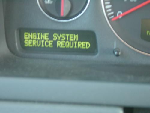 Volvo xc90 engine system service reset