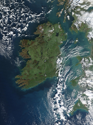 Ireland from space, click for hi-res pic