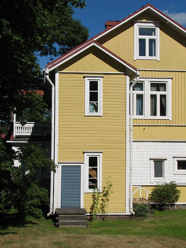 Wooden House in Hamina, Finland