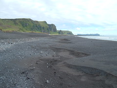 Looking East at Vík í Mýrdal