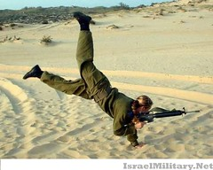 The Israeli Army (with rifle)