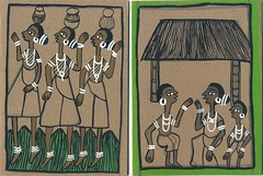 Jharna Chitrakar Greeting Cards 2