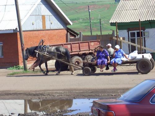Гужевой транспорт \ Animal-drawn Transportation