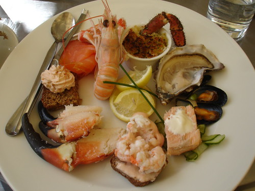 Seafood platter at Fishy Fish - Kinsale