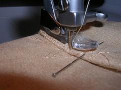 cuff sewn