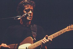 Lou Reed with Fender Telecaster