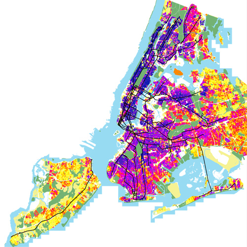 Citywide Population Density