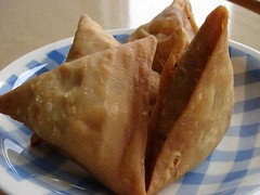 Samosas from A-One Catering