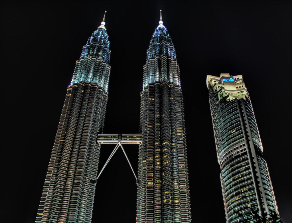 The Three Towers of Kuala Lumpur