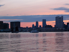 Towards South Boston and the WTC