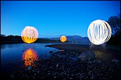 Light balls photo by Alex Matravers