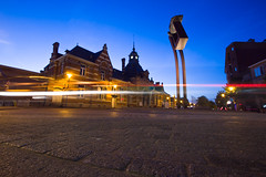 NMBS Station Turnhout / Long Exposure / Belgium photo by zilverbat.
