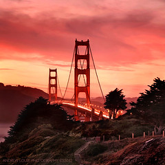 The Golden Gate Bridge - West Point photo by Andrew Louie Photography