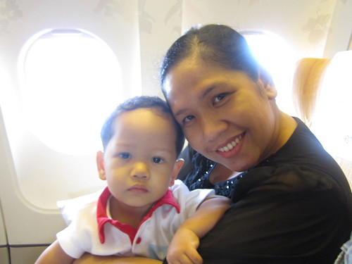 Di pesawat ke Bangkok