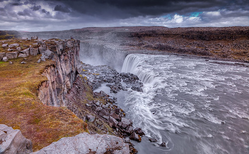 The Rocks of Dettifoss photo by Aubrey Stoll