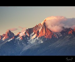 Aiguille Verte photo by Benjamin-H