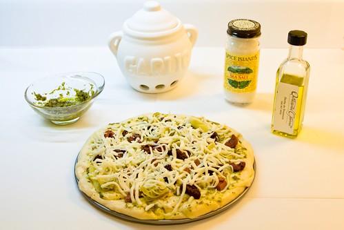 127/365 - Making Pizza