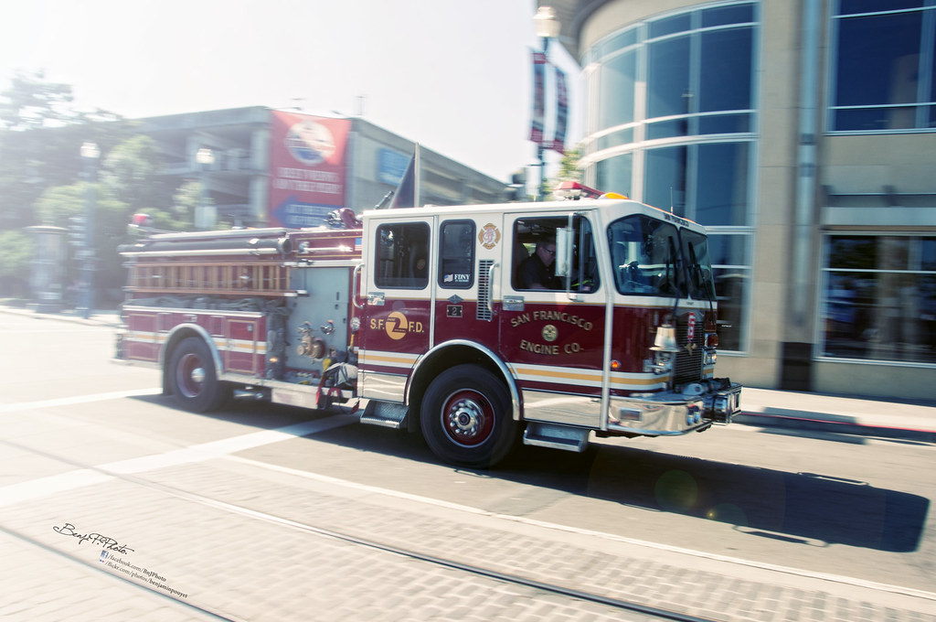 SF Fireman photo by Benji P. Photo