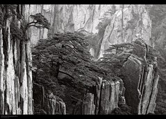HuangShan in b/w No 4. photo by J.M.Fransen (jero 053)