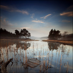 Misty Morning Loch Kennard photo by angus clyne