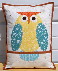 Owl Pillow photo by EschHouseQuilts