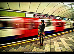 Passenger Wait London Underground photo by Edwinjones