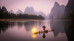 Li River Fisherman photo by adams.co.tt
