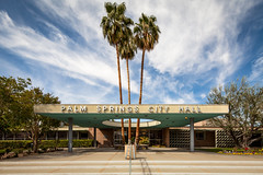 Palm Springs City Hall photo by Chimay Bleue