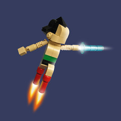 Lego Astro Boy photo by Fredoichi