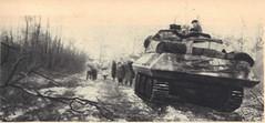 1945- Alsace- Chars - Source - 1ere dfl épopée d'une reconquete