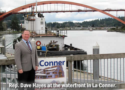 Rep. Dave Hayes in La Conner