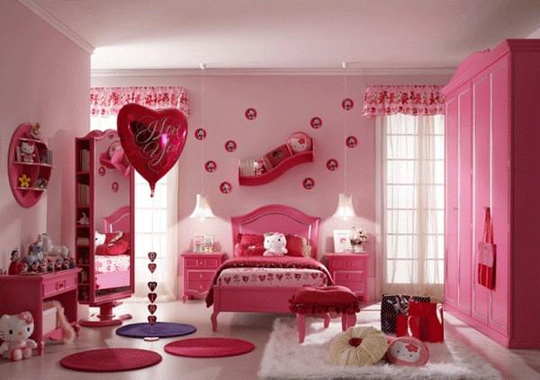 小女生房间图片_
