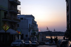 sunset street Vieste photo by ΞSSΞ®®Ξ