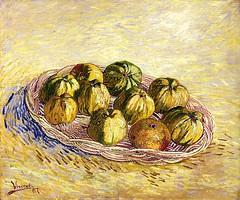 Vincent van Gogh - Basket of Apples, 1887 (Saint Louis Art Museum) Van Gogh: Up Close at Philadelphia Museum of Art photo by mbell1975