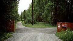 Sarah Palin's driveway